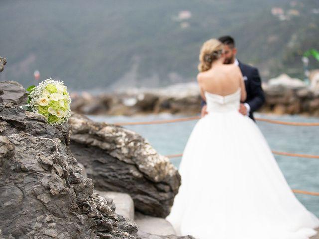 Il matrimonio di Giacomo e Federica a Moneglia, Genova 1