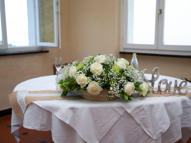 Il matrimonio di Giacomo e Federica a Moneglia, Genova 30