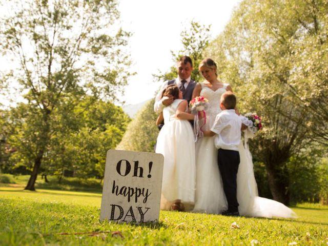 Il matrimonio di Danilo e Marilena a Ceto, Brescia 35