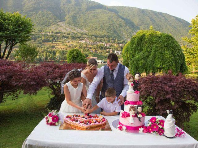 Il matrimonio di Danilo e Marilena a Ceto, Brescia 39