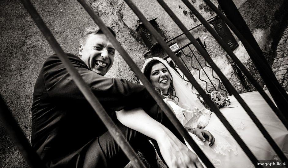 Il matrimonio di Ivano e Cristina a Mentana, Roma