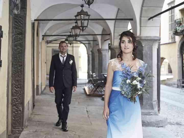 le nozze di Marina e Giorgio