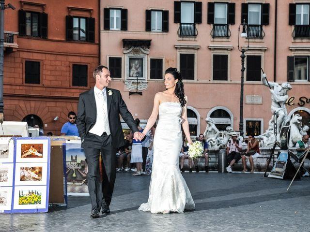Il matrimonio di Rocco e Roberta a Grottaferrata, Roma 34