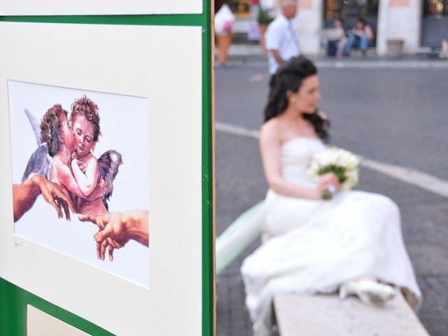 Il matrimonio di Rocco e Roberta a Grottaferrata, Roma 36