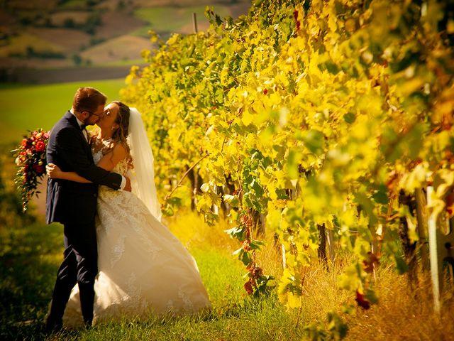 Le nozze di Federica e Benjamin