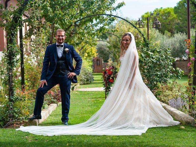 Il matrimonio di Benjamin e Federica a Treia, Macerata 11