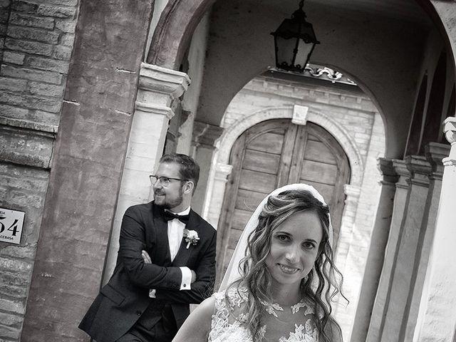 Il matrimonio di Benjamin e Federica a Treia, Macerata 17