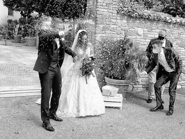 Il matrimonio di Benjamin e Federica a Treia, Macerata 31
