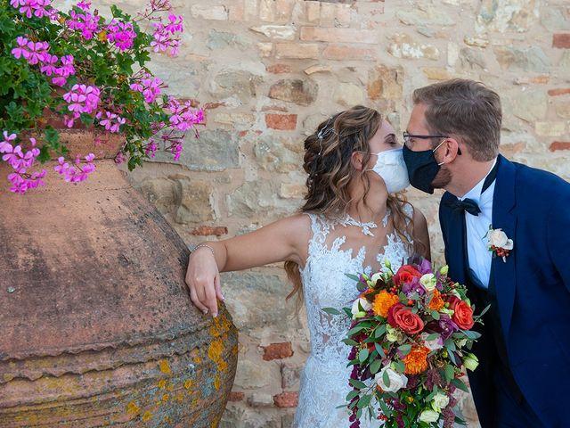 Il matrimonio di Benjamin e Federica a Treia, Macerata 36