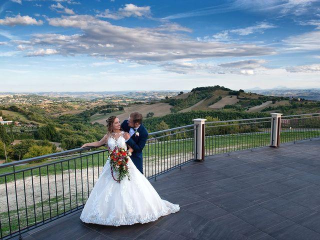 Il matrimonio di Benjamin e Federica a Treia, Macerata 38