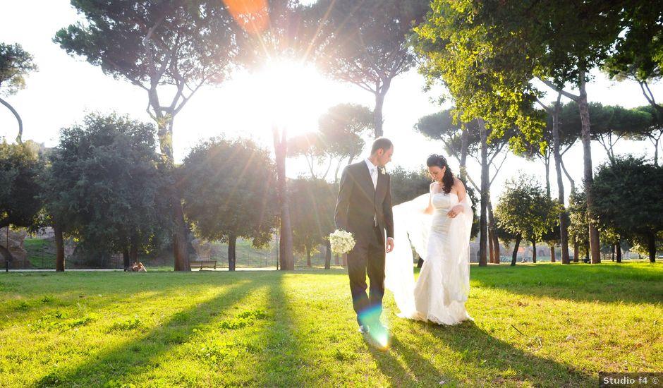Il matrimonio di Rocco e Roberta a Grottaferrata, Roma