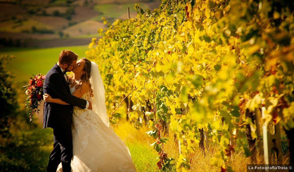 Il matrimonio di Benjamin e Federica a Treia, Macerata