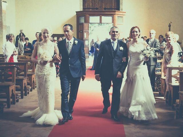 Il matrimonio di Amedeo & Arianna e Matteo & Lucrezia a Massa Marittima, Grosseto 20