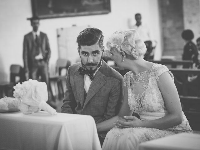 Il matrimonio di Amedeo & Arianna e Matteo & Lucrezia a Massa Marittima, Grosseto 35