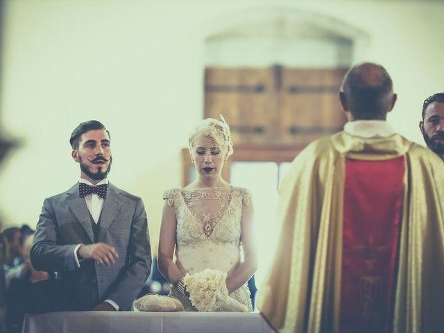 Il matrimonio di Amedeo & Arianna e Matteo & Lucrezia a Massa Marittima, Grosseto 40