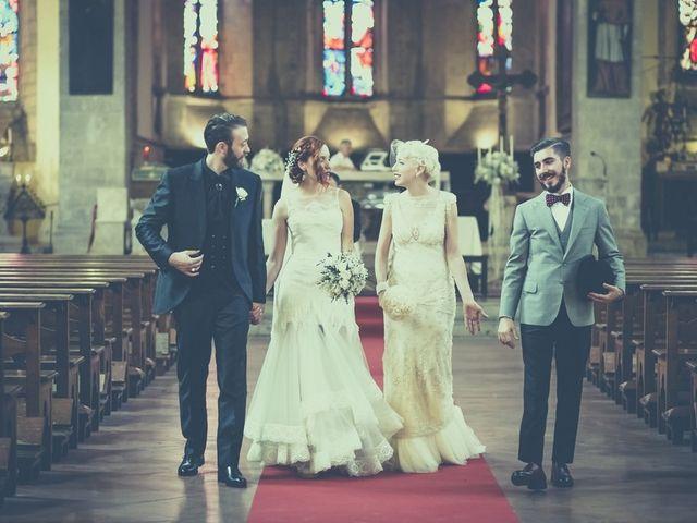 Il matrimonio di Amedeo & Arianna e Matteo & Lucrezia a Massa Marittima, Grosseto 42
