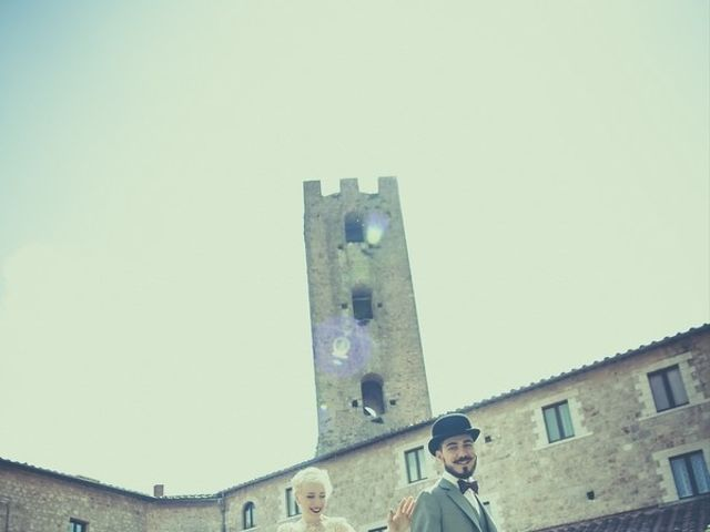 Il matrimonio di Amedeo & Arianna e Matteo & Lucrezia a Massa Marittima, Grosseto 53