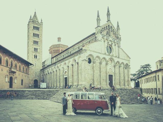 Il matrimonio di Amedeo & Arianna e Matteo & Lucrezia a Massa Marittima, Grosseto 56