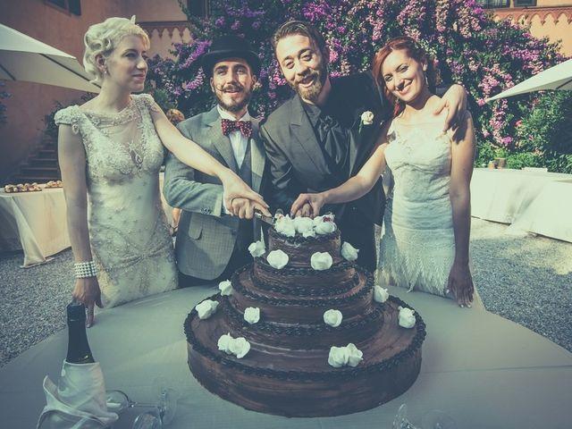 Il matrimonio di Amedeo & Arianna e Matteo & Lucrezia a Massa Marittima, Grosseto 67