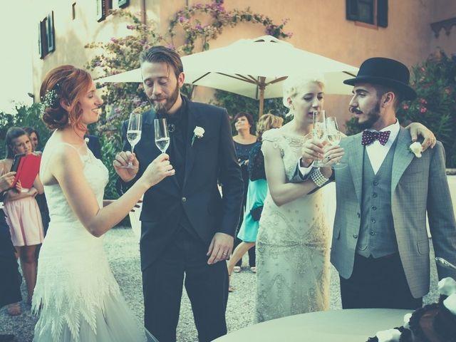 Il matrimonio di Amedeo & Arianna e Matteo & Lucrezia a Massa Marittima, Grosseto 68