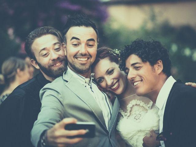 Il matrimonio di Amedeo & Arianna e Matteo & Lucrezia a Massa Marittima, Grosseto 73