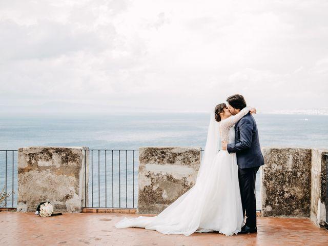Il matrimonio di Roberto e Anna a Vico Equense, Napoli 31
