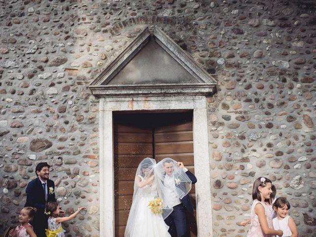 Il matrimonio di Alberto e Giulia a Sommacampagna, Verona 55
