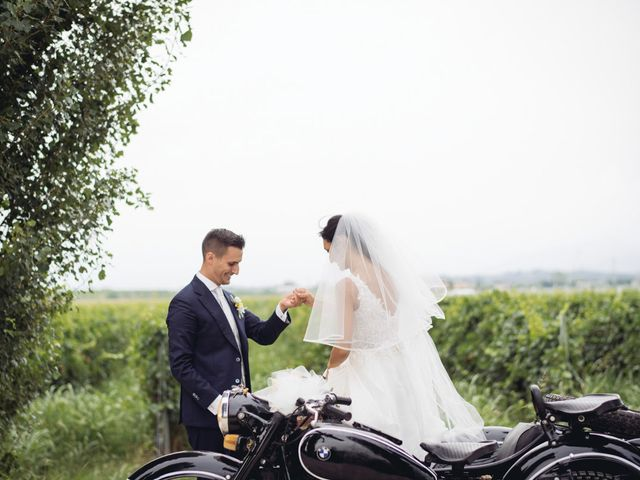 Il matrimonio di Alberto e Giulia a Sommacampagna, Verona 61