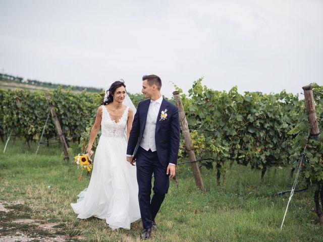 Il matrimonio di Alberto e Giulia a Sommacampagna, Verona 77