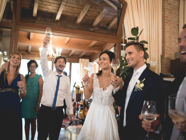 Il matrimonio di Alberto e Giulia a Sommacampagna, Verona 81