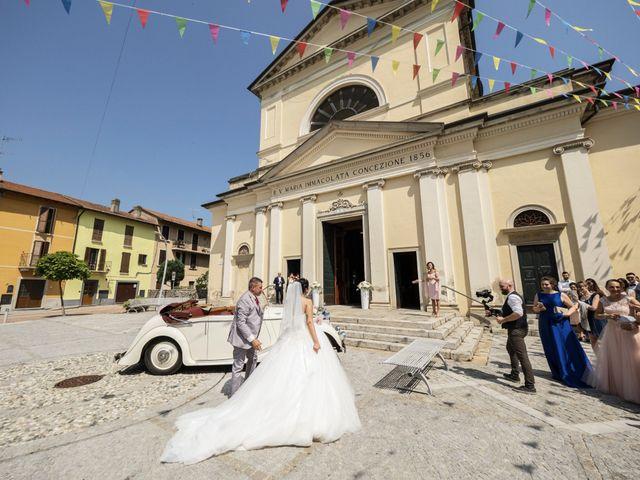 Il matrimonio di Simone e Sara a Arcisate, Varese 21