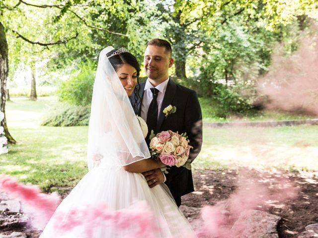 Il matrimonio di Simone e Sara a Arcisate, Varese 48