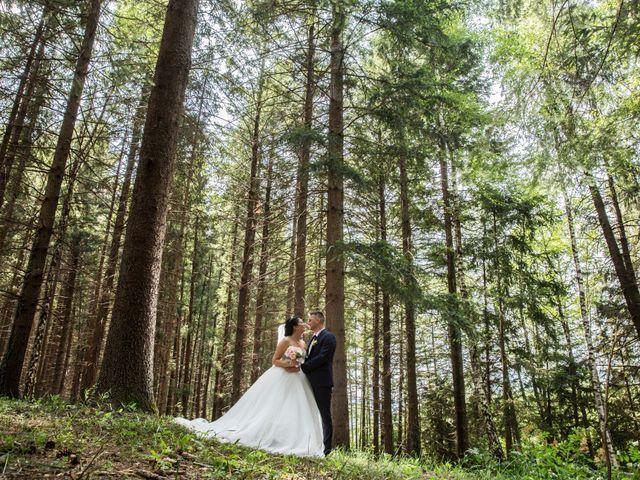 Il matrimonio di Simone e Sara a Arcisate, Varese 1