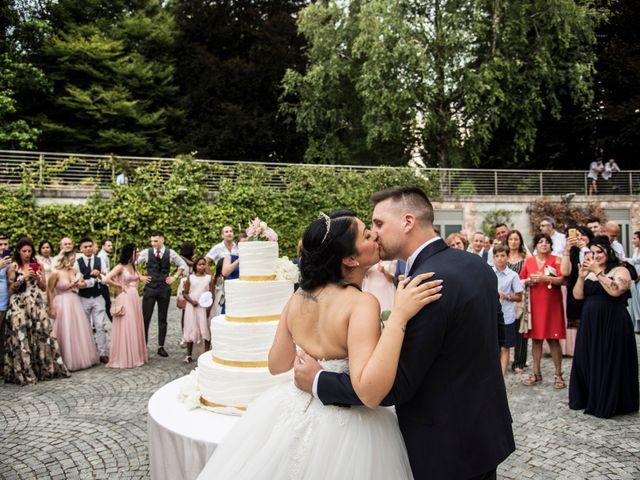 Il matrimonio di Simone e Sara a Arcisate, Varese 61