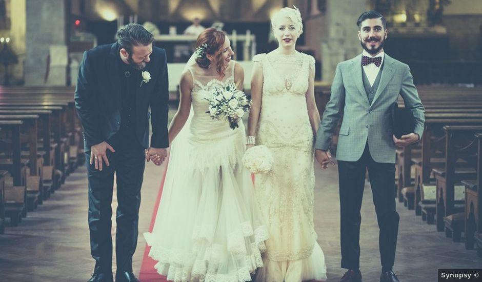 Il matrimonio di Amedeo & Arianna e Matteo & Lucrezia a Massa Marittima, Grosseto