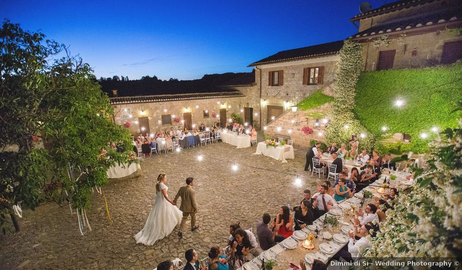 Il matrimonio di Daniele e Gaia a Capranica, Viterbo