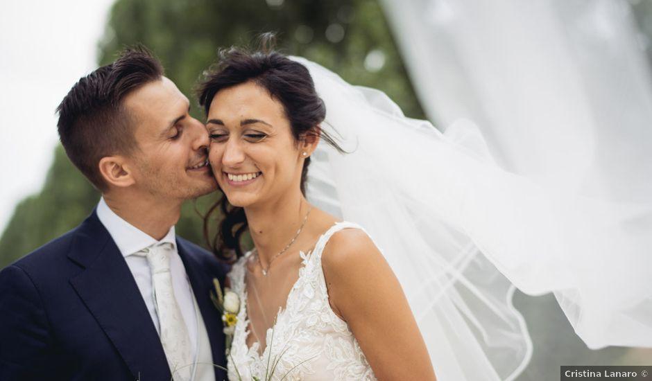 Il matrimonio di Alberto e Giulia a Sommacampagna, Verona