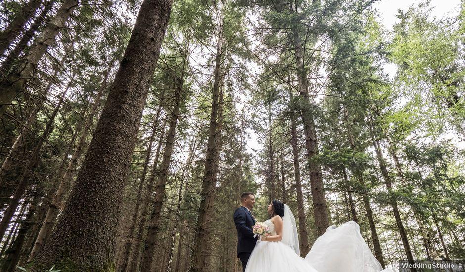 Il matrimonio di Simone e Sara a Arcisate, Varese