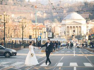 Le nozze di Adrian e Mădălina 1