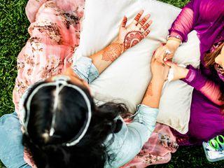 Le nozze di Nilesh e Nipa 1