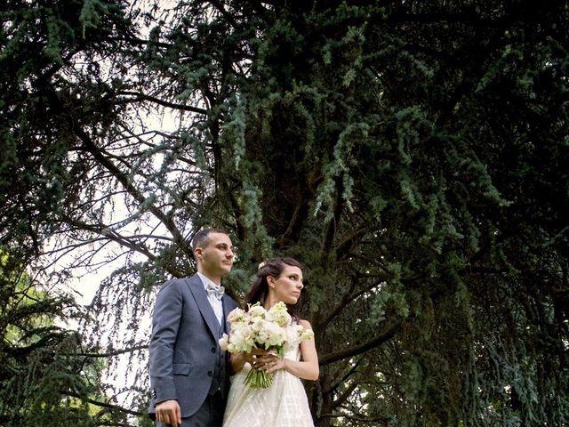 Il matrimonio di Alessandro  e Valentina  a Moscazzano, Cremona 9