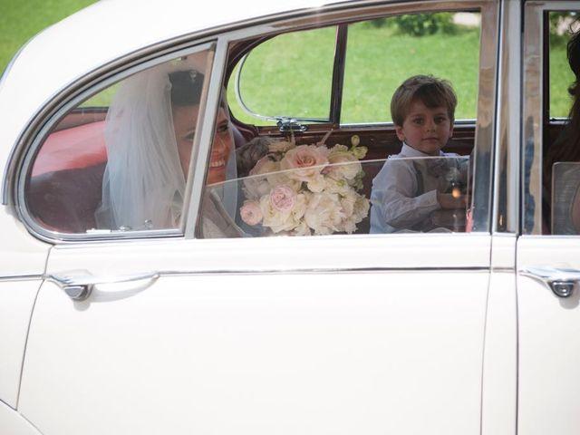 Il matrimonio di Alessandro  e Valentina  a Moscazzano, Cremona 19
