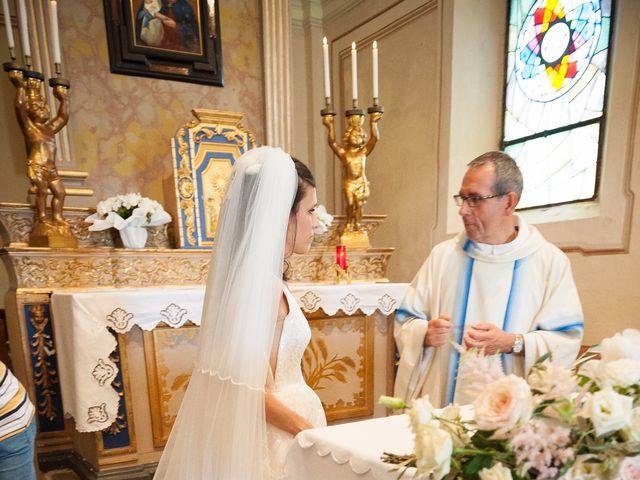 Il matrimonio di Alessandro  e Valentina  a Moscazzano, Cremona 20