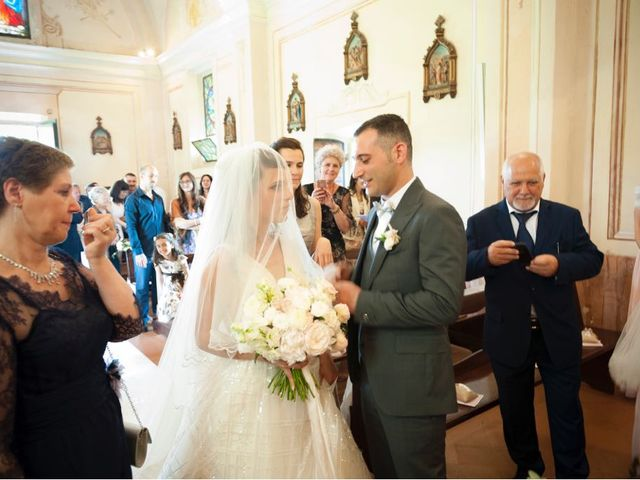 Il matrimonio di Alessandro  e Valentina  a Moscazzano, Cremona 23