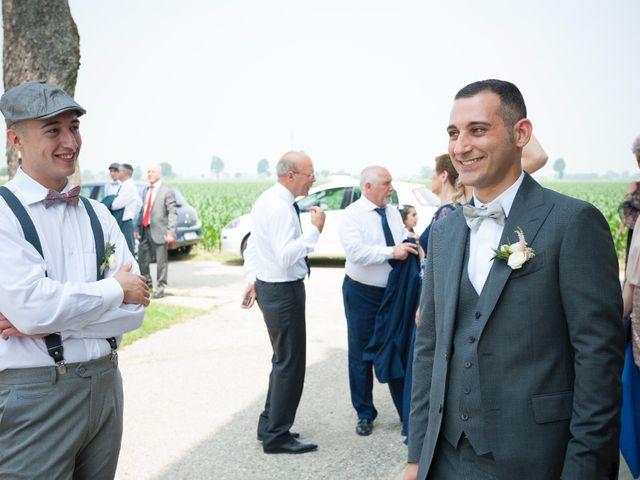 Il matrimonio di Alessandro  e Valentina  a Moscazzano, Cremona 36