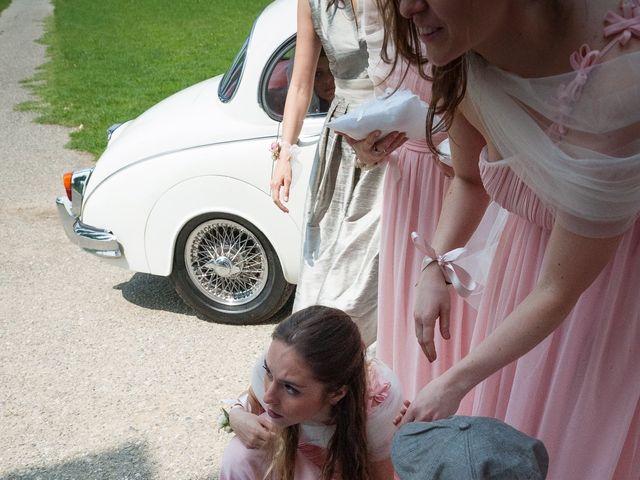 Il matrimonio di Alessandro  e Valentina  a Moscazzano, Cremona 37