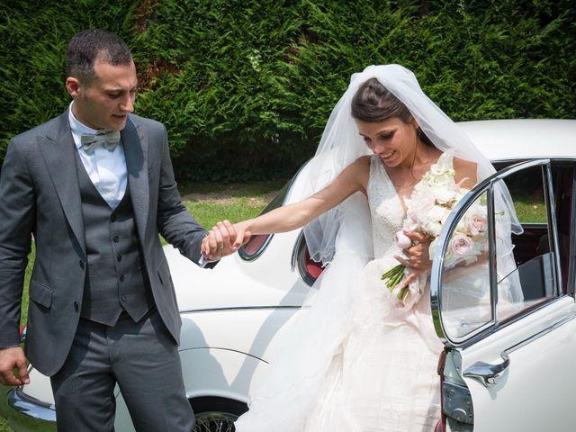 Il matrimonio di Alessandro  e Valentina  a Moscazzano, Cremona 40