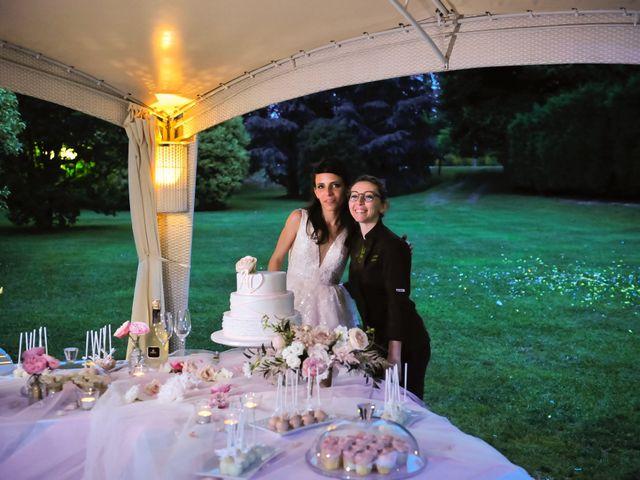 Il matrimonio di Alessandro  e Valentina  a Moscazzano, Cremona 45