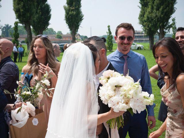 Il matrimonio di Alessandro  e Valentina  a Moscazzano, Cremona 53