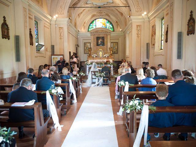 Il matrimonio di Alessandro  e Valentina  a Moscazzano, Cremona 54